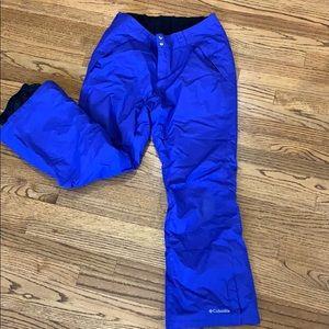 Columbia women's waterproof snow pants